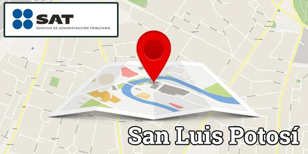 Sucursales SAT de San Luis Potosí – Dirección, horarios y teléfonos.